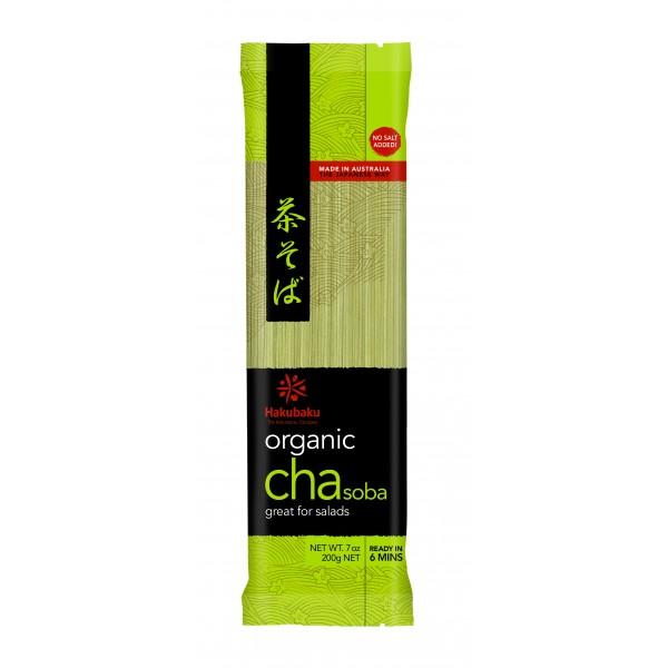 Hakubaku Organic Noodle - Cha Soba